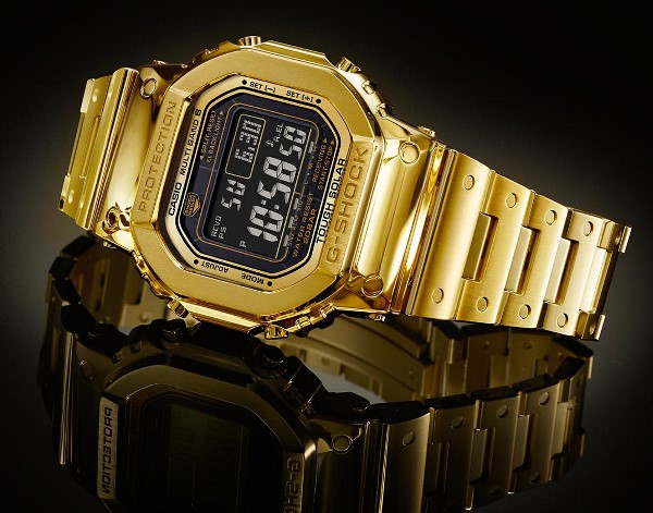 Casio G-Shock G-D5000-9JR Solid Gold